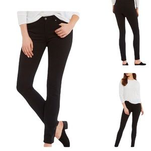 Eileen Fisher Organic Cotton Jeans Black Size 10